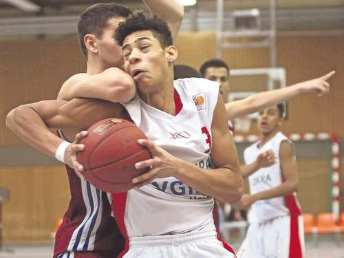 NBBLer Okao beim All-Star-Tag