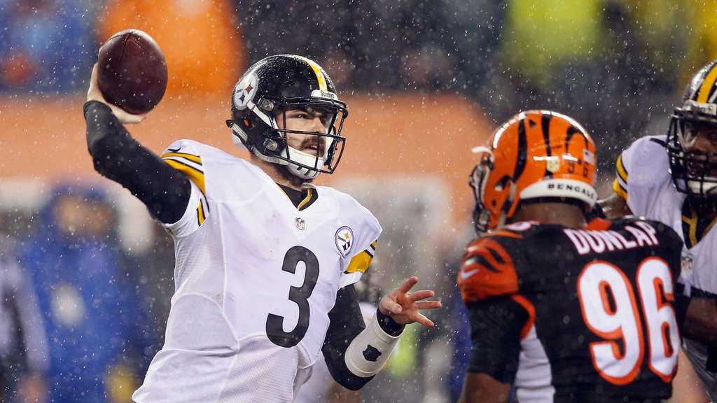Landry Jones steht mit den Pittsburgh Steelers im Playoff-Viertelfinale.