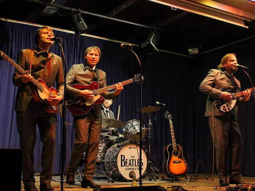 """The Beatles Connection"" und Achim Amme waren zu Gast in Zierenberg"