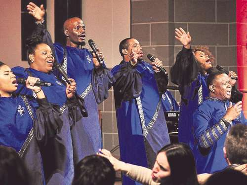 "Gottes Lob perfekt gestylt: ""The Best of Black Gospel"" in der Christuskirche"