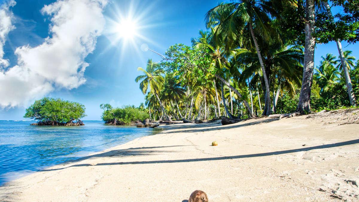 sommer sonne strand und meer  reise