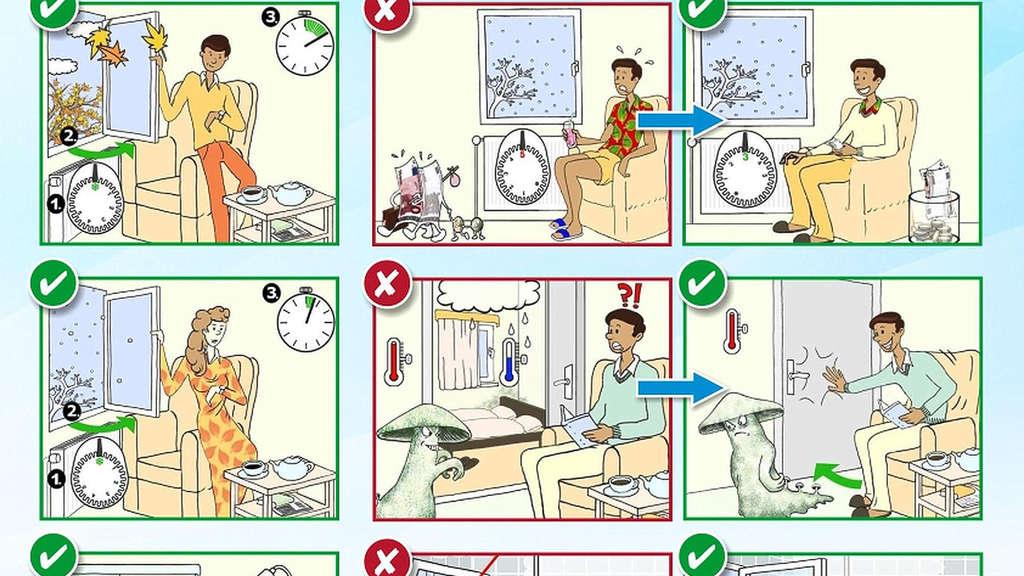 thema heizen tipps zum sparen in comic form g ttingen. Black Bedroom Furniture Sets. Home Design Ideas
