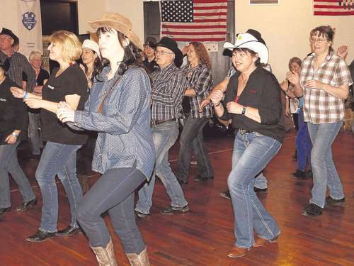 TuSpo Laudenbach: Country-Linedance-Party war Erfolg