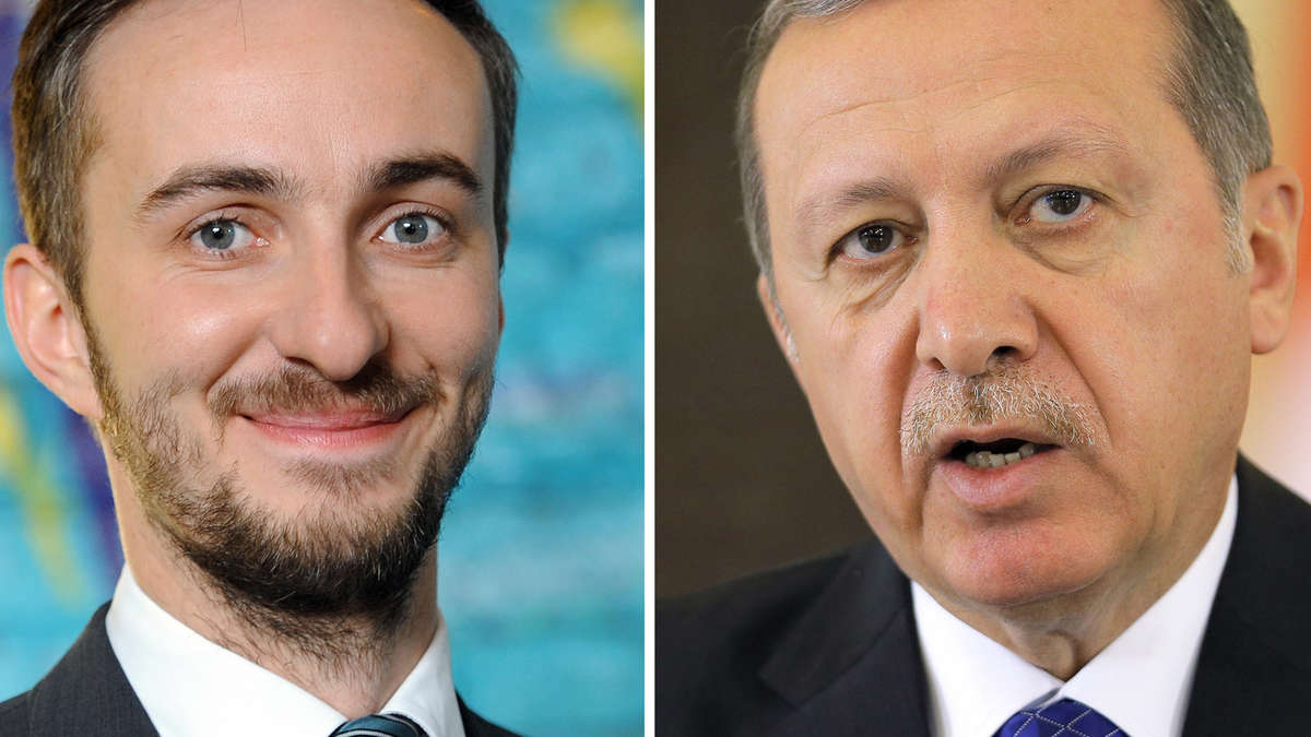 Witze erdogan Recep Tayyip
