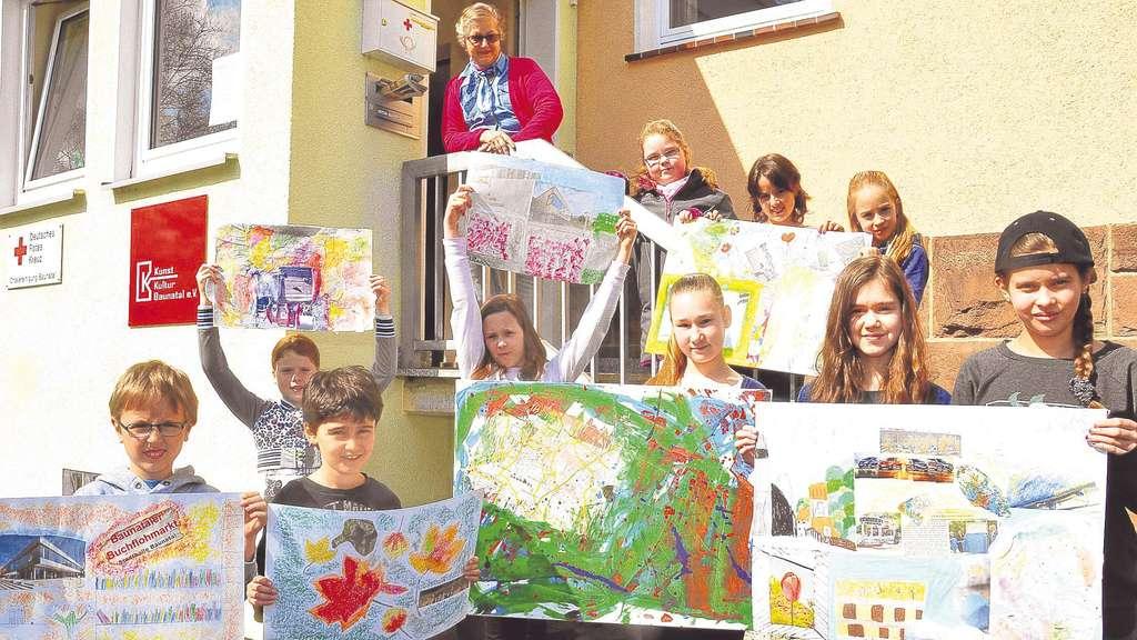 Ausstellung im Mai: 30 Kinder malen ihre Heimat Baunatal   Kreis Kassel