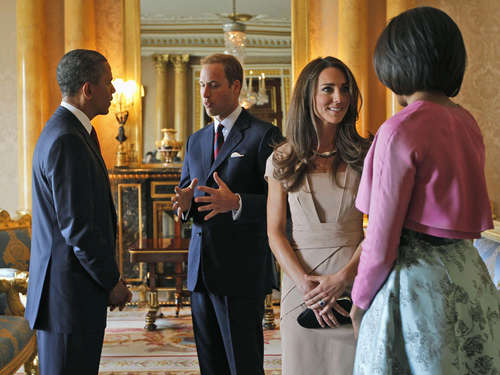 William und Kate laden die Obamas zum Dinner ein