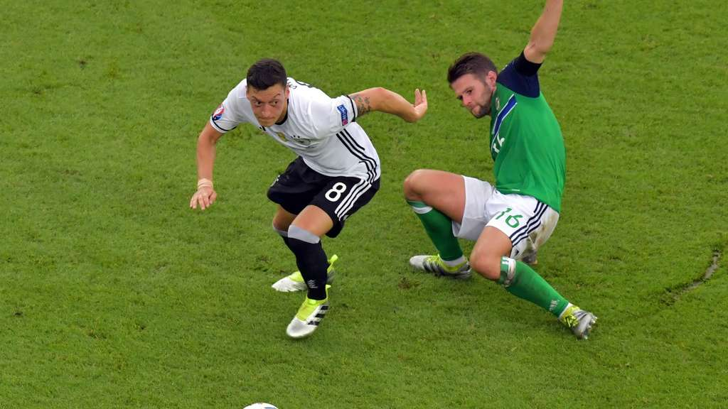 EURO 2016 - Group C Northern Ireland vs Germany