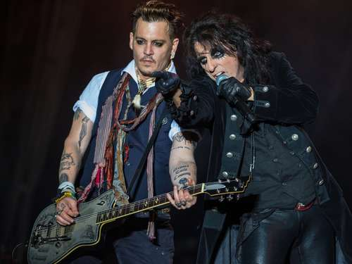 Johnny Depp setzt Tournee in den USA fort