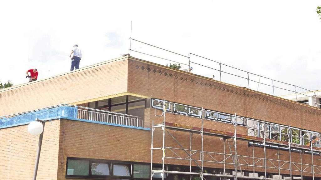Baunatal Bau des Kinder und Jugendzentrums am Bornhagen