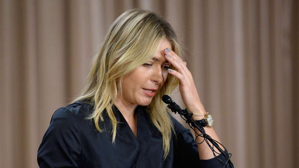 Maria Sharapova News Conference