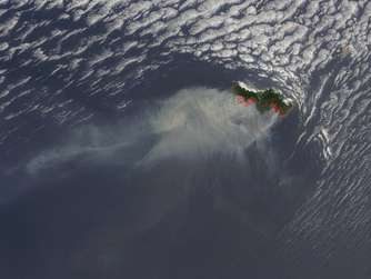 Smoke from fires on Portuguese island of Madeira