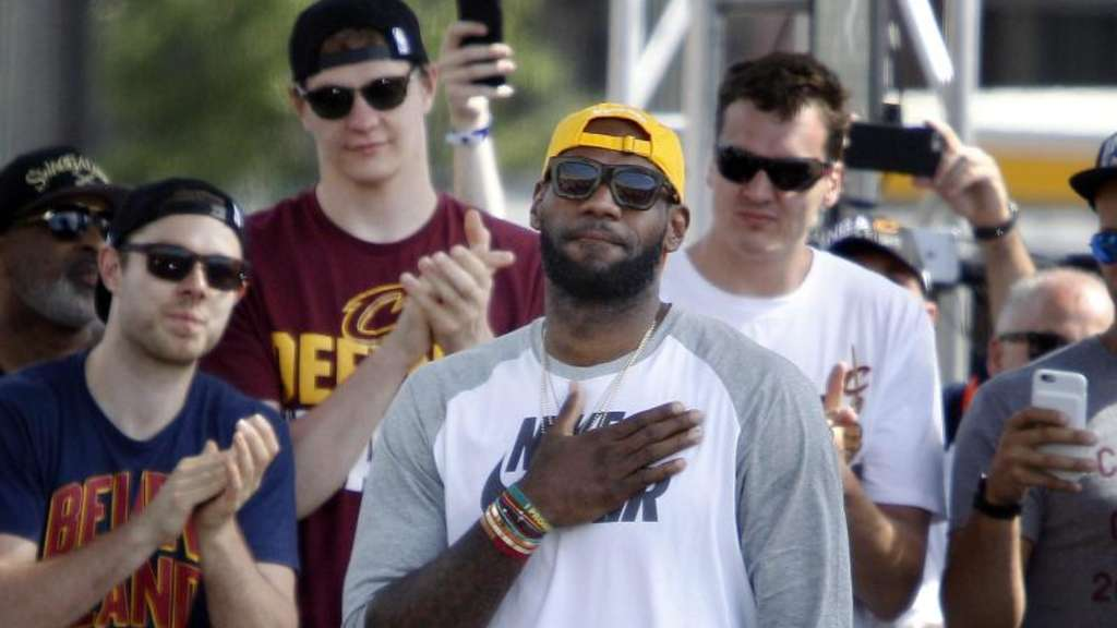 LeBron James ist Topverdiener der NBA. Foto: David Maxwell