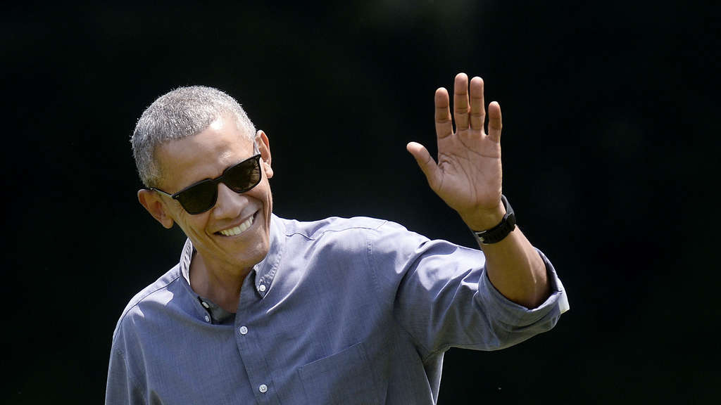 Obama Returns from Camp David