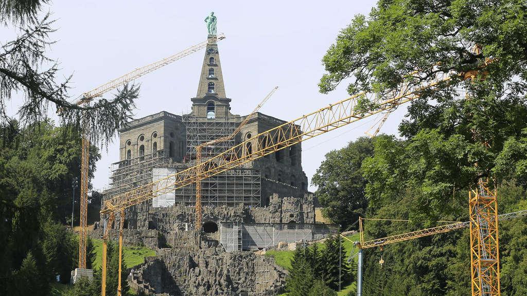 Wasserkaskaden Kassel kaskaden sanierung im bergpark wilhelmshöhe dauert bis 2018 bad
