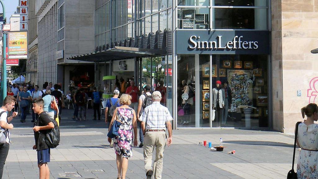 Der Betrieb Beim Modehaus Sinn Leffers Geht Weiter Mitte Kassel