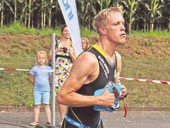 Sieger: Christian Haupt kam nach 1:12,01 Stunden ins Ziel.