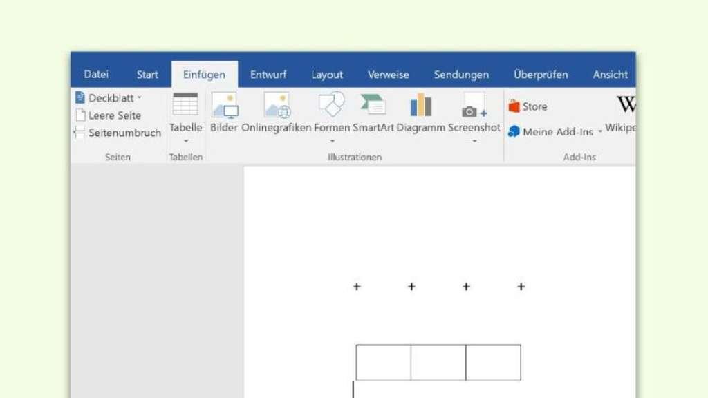 Tabellen In Word Schneller Anlegen Netzwelt