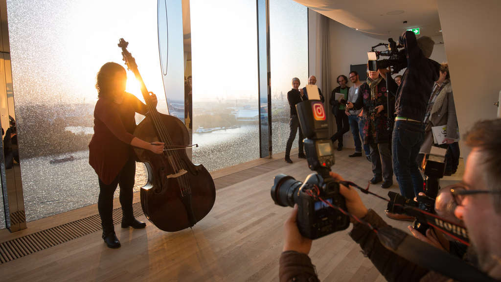 """Backstage"" in der Elbphilharmonie"