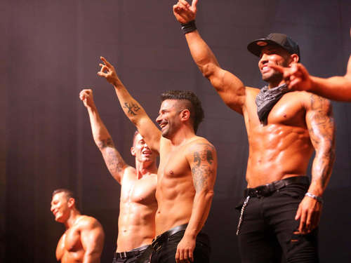 "Men-Strip-Show: ""The Sixx Paxx"" in der Stadthalle Kassel"