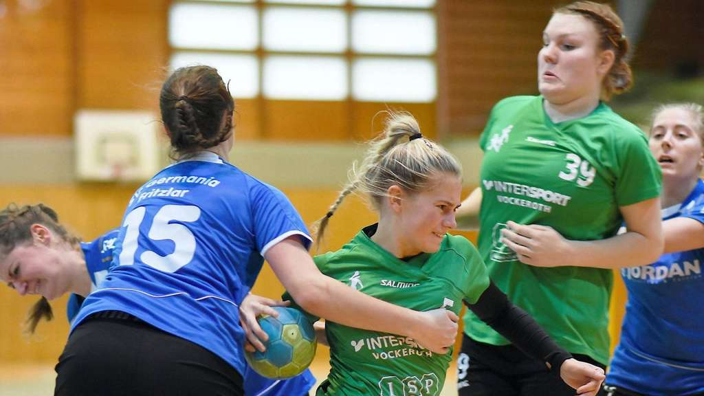 Torfrau Siggaard Bleibt Ganz Cool Landesliga Nord Handball Hessen W