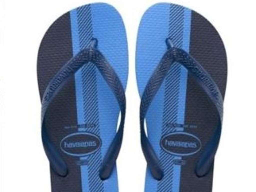 flip-flops: bilderrätsel um farbe - blau-schwarz, weiß-gold