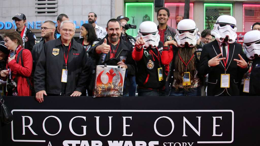 &#39Rogue One: A Star Wars Story&#39 premiere in Hollywood