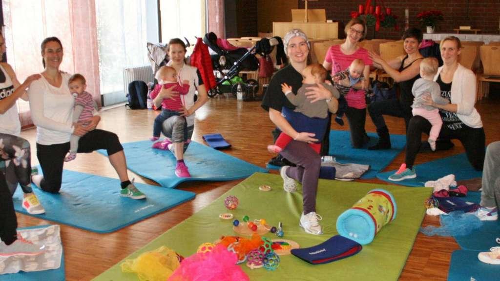 Baby-Kurs macht ab Januar Mamas in Vellmar fit   Vellmar