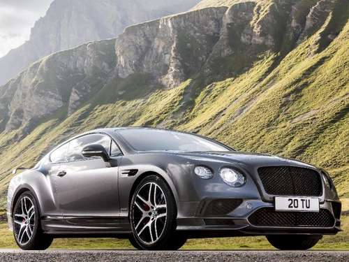 Neuer Bentley Continental Supersports erreicht Tempo 336