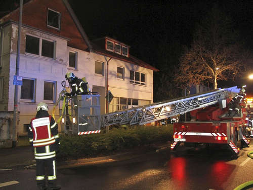 Brand in leerstehendem Haus in Northeim
