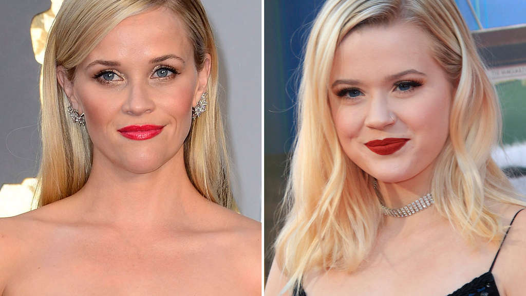 Reese Witherspoone und Tochter Ava Phillippe