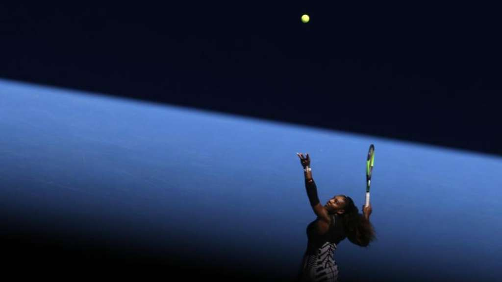 Serena Williams im Achtelfinale der Australian Open