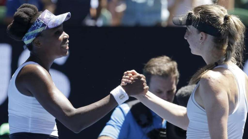 Australian Open: Barthel scheitert an Venus Williams