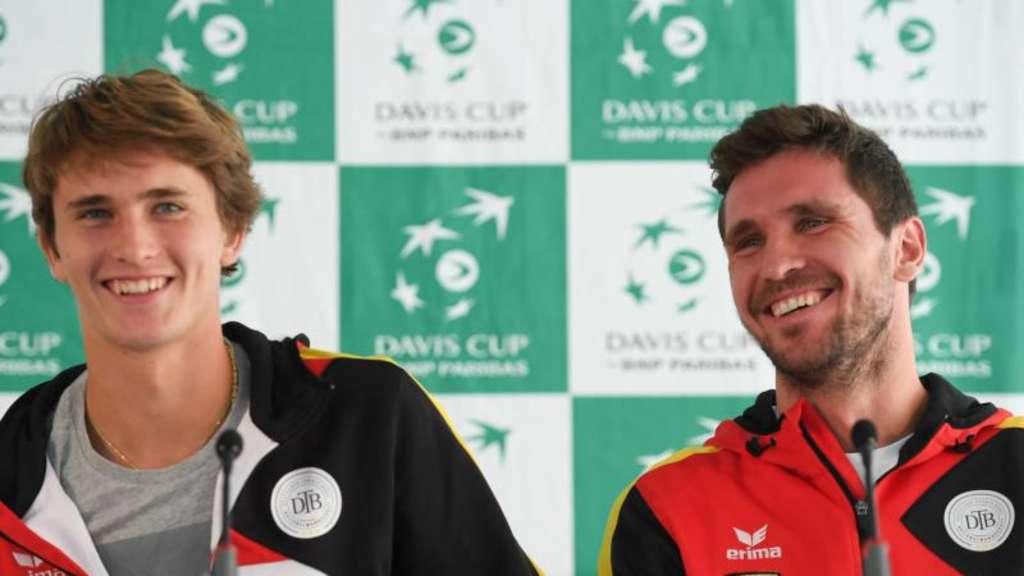 Zverev Bruder Konnen Beim Davis Cup Geschichte Schreiben Sport
