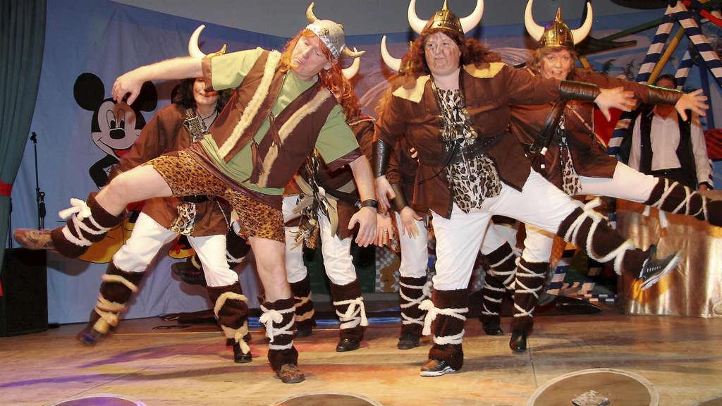 Disney Als Roter Faden Burgwaldnarren Feierten Karneval Burgwald