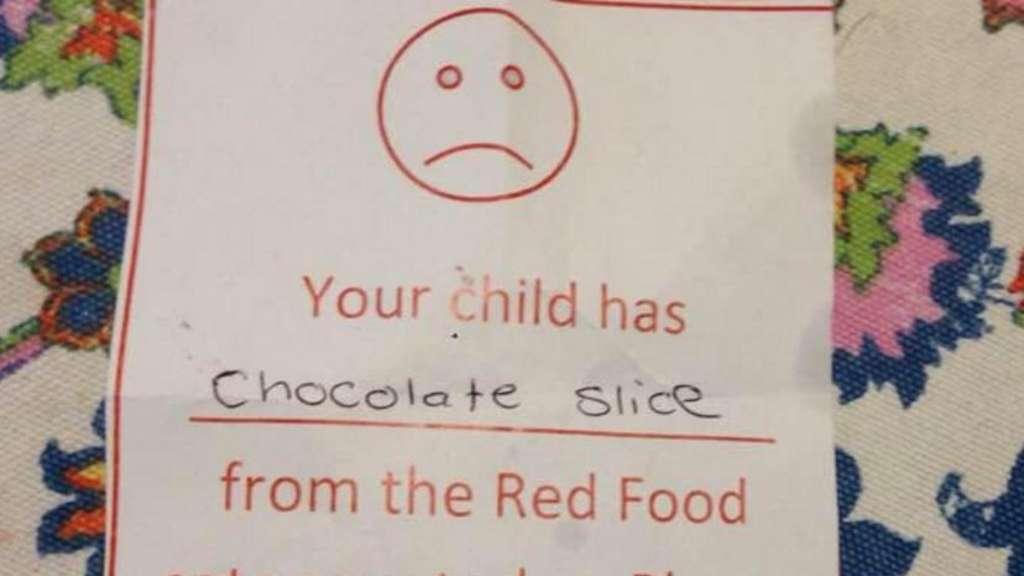 Was eine Mutter auf diesem Zettel lesen musste, machte sie wütend | Welt