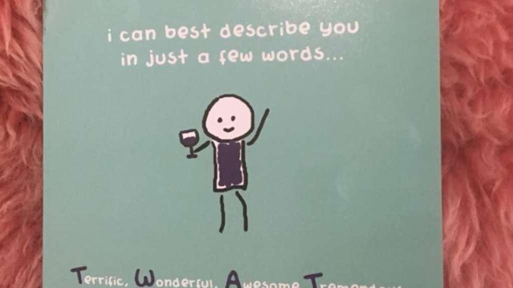 Die Botschaft Dieser Geburtstagskarte Ist Alles Andere Als Nett Welt