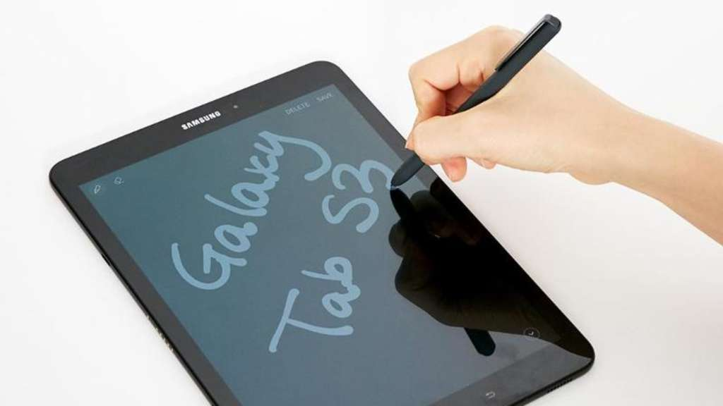 Das Samsung Galaxy Tab S3 will Apples iPad Konkurrenz machen. Foto: Samsung/dpa