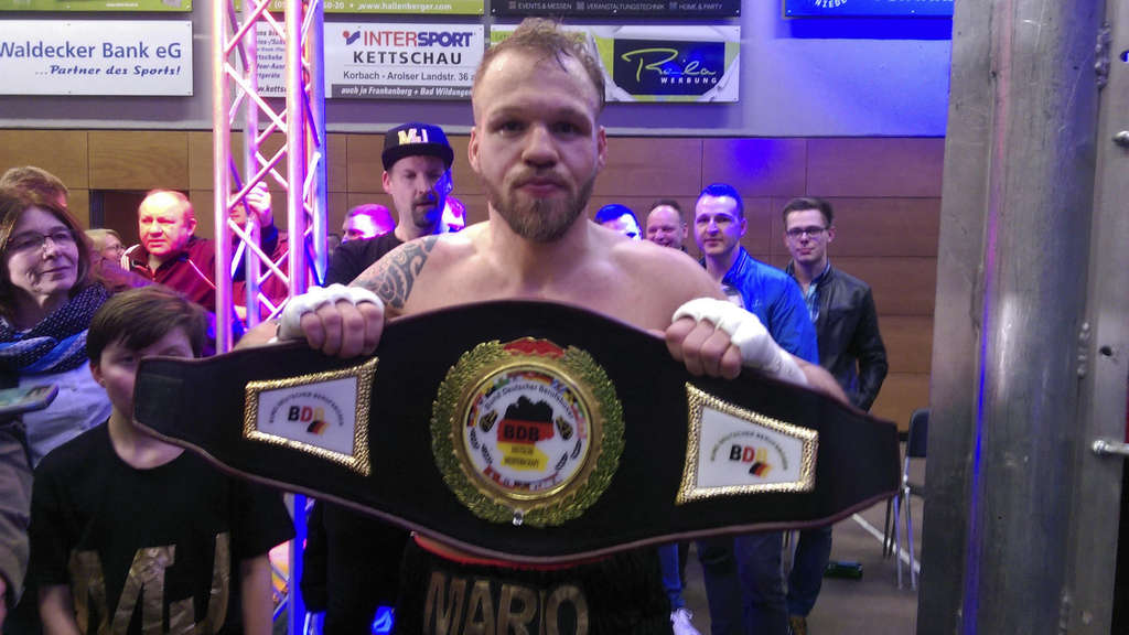 Boxen: Korbacher Mario Jassmann ist internationaler Deutscher Meister