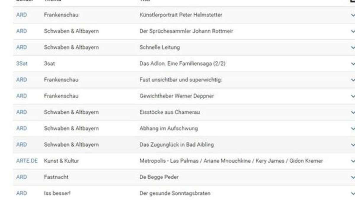 Mediatheken von ARD und ZDF auf einer Seite   Netzwelt