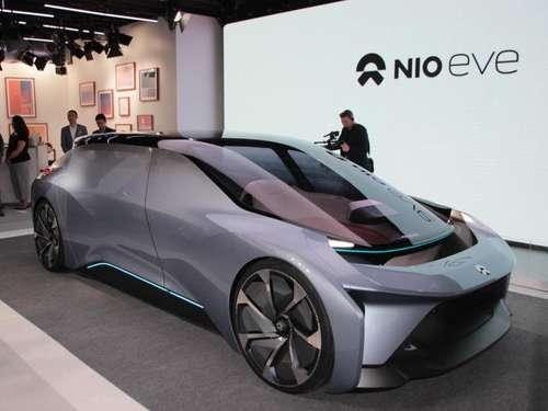 Elektro-Start-up Nio zeigt E-Limousine Eve