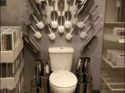 "Auf der Toilette thronen: Ikea imitiert ""Game of Thrones"""
