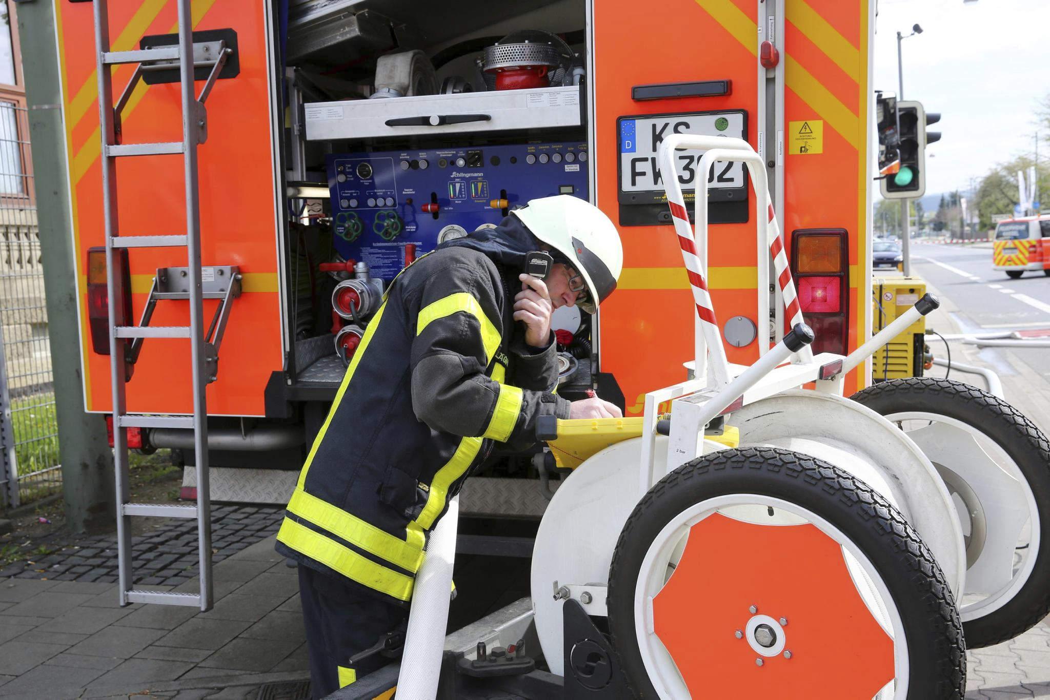 Feuerwehreinsatz Kassel