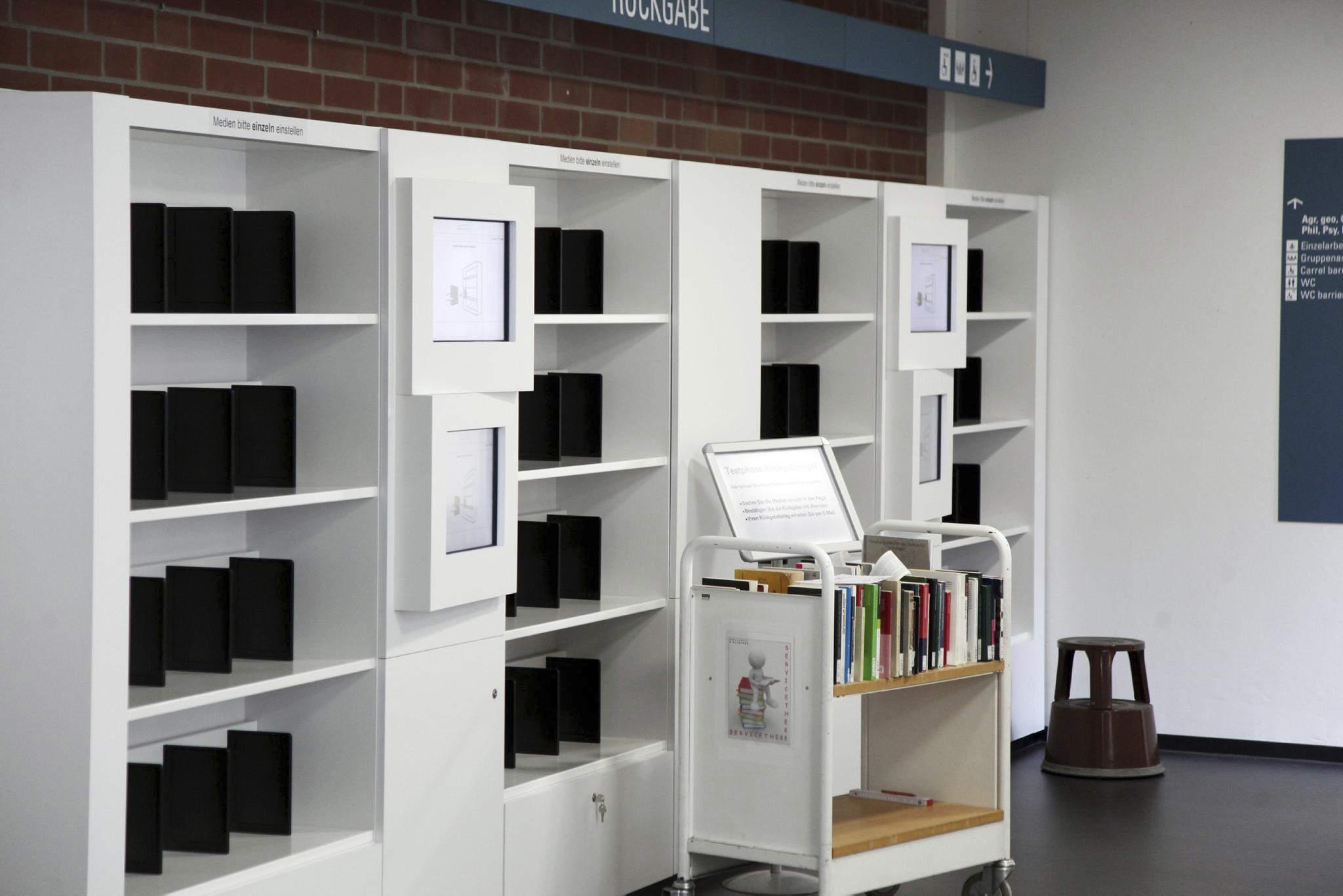 Uni-Bibliothek in Kassel nach zwei Jahren wieder in Betrieb   Nord ...