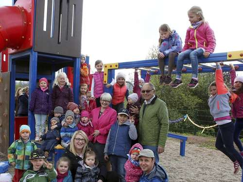Spielplatz in Gertenbach ab sofort in Kinderhand