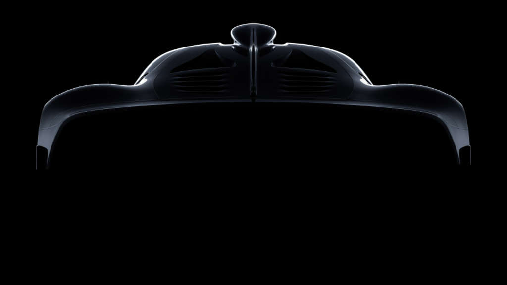 Das AMG Hypercar Project One in der Skizzenansicht.