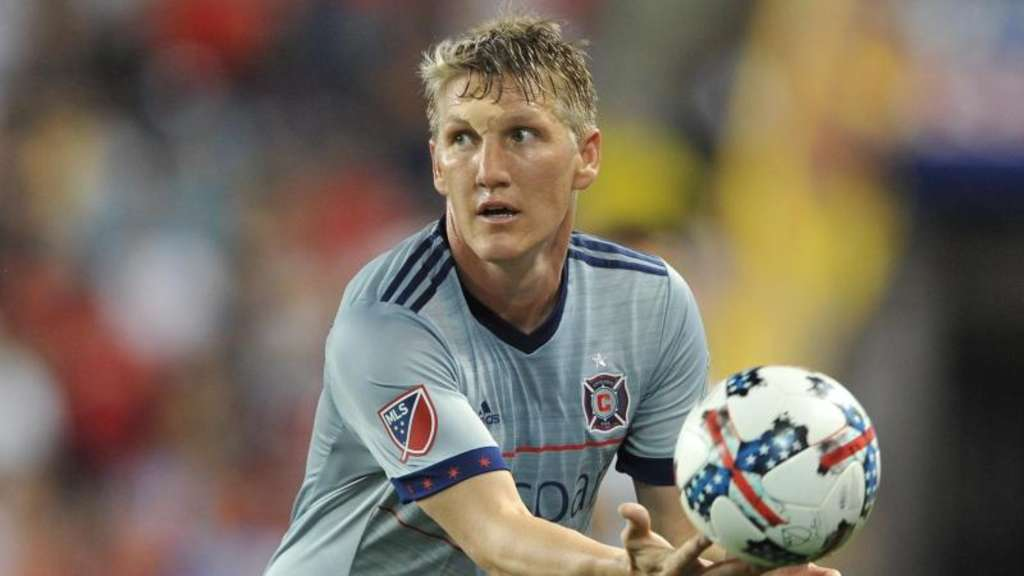 Bastian Schweinsteiger holte mit Chicago Fire in der Major League Soccer (MLS) einen 4:1-Sieg über Seattle. Foto: Brooks Von Arx/ZUMA Wire