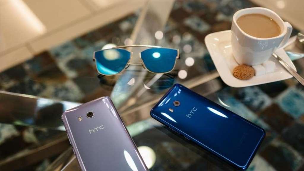 HTCs neues Smartphone U11 mit Touch-Funktion am Rahmen | Netzwelt