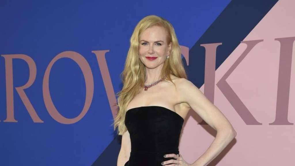 Nicole Kidman bei den CFDA Fashion Awards im Hammerstein Ballroom in New York. Foto: Evan Agostini