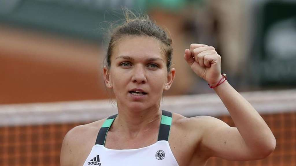 Simona Halep geht als Favoritin ins Finale der French Open. Foto: David Vincent