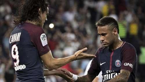 24b2d7e45d584 Neymar an allen Toren beteiligt  Paris Saint-Germain schlägt Saint-Étienne